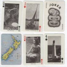 Collectable  Vintage  Souvenir playing cards deck New Zealand